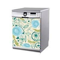 Artikel Çiçek Desenleri-3 Bulaşık Makinası Stickerı Bs-187