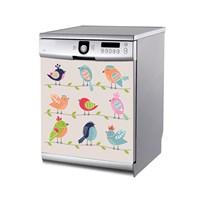 Artikel Kuşlar Bulaşık Makinası Stickerı Bs-189