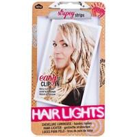 Haır Lıghts - Saç Tutamı - Çıtçıtlı - Kahverengi - 4Lü Set