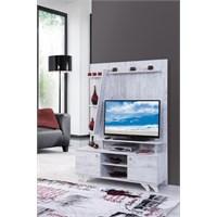 Alpino Rex Tv Ünitesi Antik Beyaz