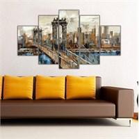 Ritmo Canvas Newyork Köprü Canvas Tablo