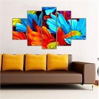Ritmo Canvas Renkli Çiçekler Canvas Tablo