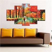Ritmo Canvas Sonbahar Ve Yürüyüş Canvas Tablo