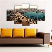 Ritmo Canvas Eski Galata Köprüsü Canvas Tablo