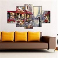 Ritmo Canvas Paris Eyfel Kulesi Canvas Tablo