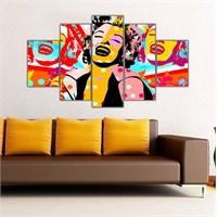 Ritmo Canvas Marilyn Monroe Canvas Tablo