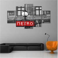 Ritmo Canvas Metro Canvas Tablo