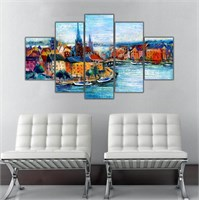 Ritmo Canvas Şehir Manzarası Canvas Tablo