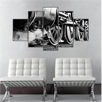 Ritmo Canvas Lokomotif Canvas Tablo