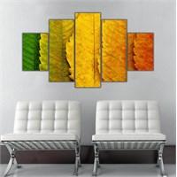 Ritmo Canvas Sarı Yapraklar Canvas Tablo