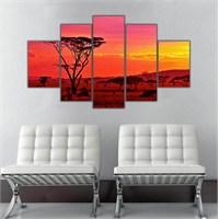 Ritmo Canvas Afrika Manzara Canvas Tablo