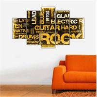 Ritmo Canvas Rock Canvas Tablo
