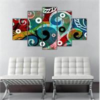 Ritmo Canvas Soyut Canvas Tablo