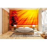 Iwall Resimli Akşam Güneşi Duvar Kağıdı 130X180 Cm