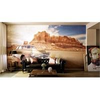 Iwall Resimli Dağ Ve Vadi Duvar Kağıdı 180X130