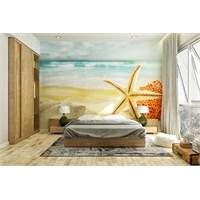 Iwall Resimli Deniz Yıldızı Duvar Kağıdı 250X180