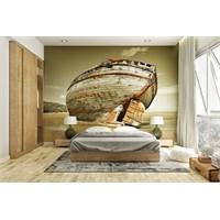 Iwall Resimli Eski Tekne Duvar Kağıdı 250X180