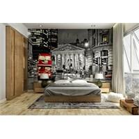 Iwall Resimli Gece Ve Şehir Duvar Kağıdı 250X180