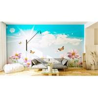 Iwall Resimli Gökyüzü Duvar Kağıdı 370X250