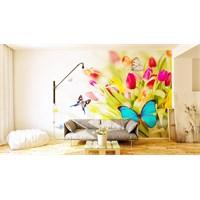 Iwall Resimli Kelebek Duvar Kağıdı 250X180