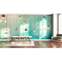Iwall Resimli Lambalar Duvar Kağıdı 250X180