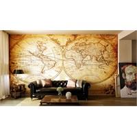 Iwall Resimli Maps Duvar Kağıdı 250X180