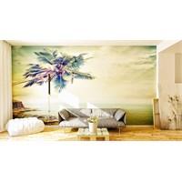 Iwall Resimli Palmiye Duvar Kağıdı 250X180