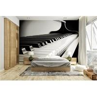 Iwall Resimli Piyano Duvar Kağıdı 180X130