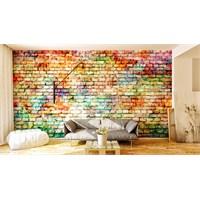 Iwall Resimli Renkli Duvar Kağıdı 250X180