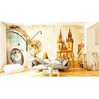 Iwall Resimli Şato Duvar Kağıdı 370X250