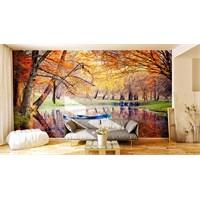 Iwall Resimli Sonbahar Duvar Kağıdı 180X130