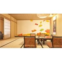 Iwall Resimli Sonbahar Yaprakları Duvar Kağıdı 370X250