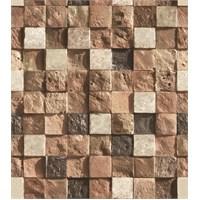 Bien Wallpaper 8820 Taş Desen Duvar Kağıdı