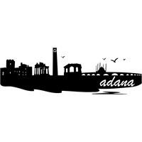 Sticker Masters Adana Siluet Duvar Sticker 2