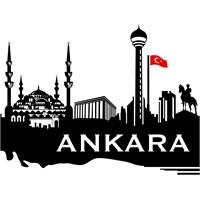 Sticker Masters Ankara Siluet Duvar Sticker 4