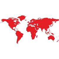 Sticker Masters Dünya Haritası Duvar Sticker