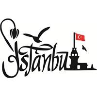 Sticker Masters İstanbul Siluet Duvar Sticker