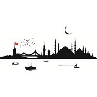 Sticker Masters İstanbul Siluet Duvar Sticker 3