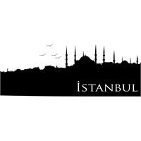Sticker Masters İstanbul Siluet Duvar Sticker 12