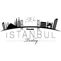 Sticker Masters İstanbul Siluet Duvar Sticker 13