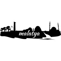 Sticker Masters Malatya Silueti Duvar Sticker