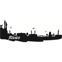 Sticker Masters Sivas Silueti Duvar Sticker