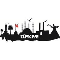 Sticker Masters Türkiye Silueti Duvar Sticker