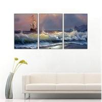 Ritmo Canvas Deniz Manzarası Kanvas Tablo