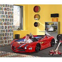 FastBack Arabalı Yatak Kırmızı