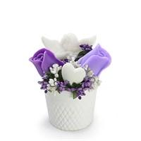Ejoya Gifts Güller Ve Melekler Lila