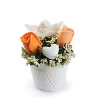 Ejoya Gifts Güller Ve Melekler Somon
