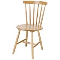 Sefes Melek Sandalye 4 Adet / Meşe