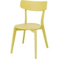 Sefes Bahar Sandalye 4 Adet / Sarı