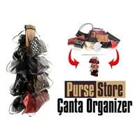 Uygun Şeffaf Gözlü Dolap İçi Çanta Askısı Purse Store